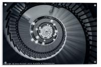 Spiral Staircase, Acrylic Print