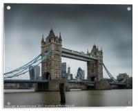 Tower Bridge, Acrylic Print