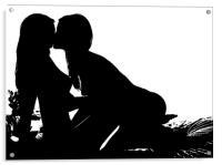Lovers, Acrylic Print