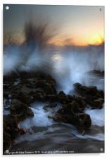 Dawn Explosion, Acrylic Print