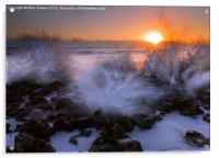 Sunrise Explosion, Acrylic Print