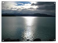 Lake Taupo New Zealand, Acrylic Print