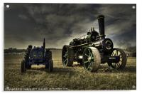The Fordson & the Fowler, Acrylic Print