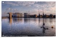 Walking on water, Acrylic Print
