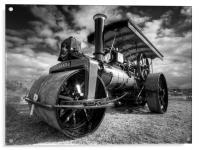 Steam Rolling, Acrylic Print