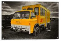 The BR crew bus , Acrylic Print