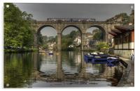 Knaresborough Viaduct, Acrylic Print