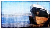 Boat waiting to sail, Acrylic Print