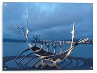 Viking Ship, Acrylic Print