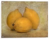 Lemons, Acrylic Print