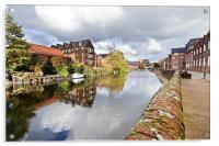 Norwich Reflections, Acrylic Print