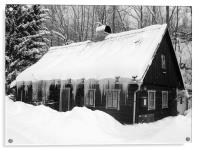 Winter art, Acrylic Print