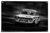 Ford Escort Mk1 tempest rally, Acrylic Print