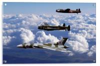 Avro Sisters 2, Acrylic Print