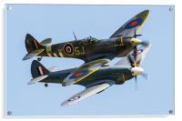 Spitfire Duo, Acrylic Print