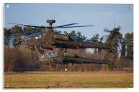 AH64 Apache Longbow, Acrylic Print
