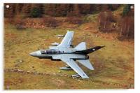 Tornado GR4 056 low level in wales, Acrylic Print