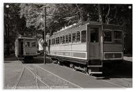 Snaefell Mountain Railway, Acrylic Print
