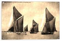 Niagara, Edme and Edith May , Acrylic Print