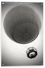 Tethered balloon , Acrylic Print