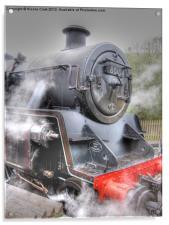 Steam Locomotive, Acrylic Print