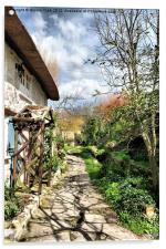 The Garden Path, Acrylic Print