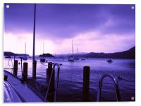 Windermere at Dusk, Acrylic Print