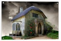 Gothic Cottage 2, Acrylic Print