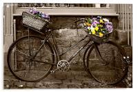 Flower Seller, Acrylic Print