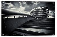 London City Hall, Acrylic Print