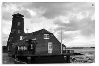 Langstone Harbour Windmill, Acrylic Print