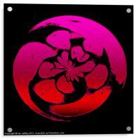 Coloured Sphere, Acrylic Print