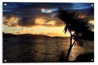 Loch Bay Sunset, Acrylic Print