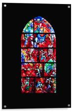 Stained Glass, Acrylic Print