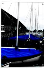 Blue, Acrylic Print