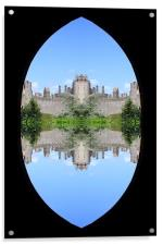 Castle, Acrylic Print