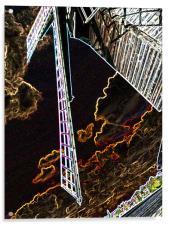 Artistic Windmill, Acrylic Print