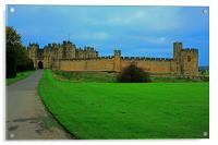 Alnwick Castle, Acrylic Print
