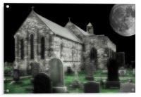 Church Yard, Acrylic Print