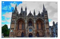 Peterborough Cathedral, Acrylic Print