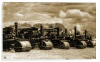 Steam Rollers 2, Acrylic Print