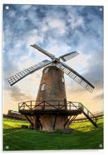 Wilton Windmill, Acrylic Print