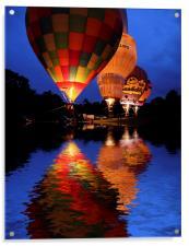 Hot air Balloon, Acrylic Print