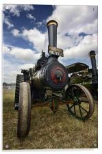 Traction Engine, Acrylic Print