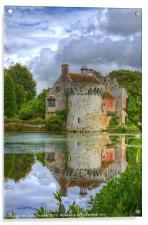 Scotney Castle, Acrylic Print