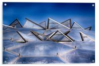 Eden Project Roof, Acrylic Print