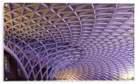 London Kings Cross railway station, Acrylic Print