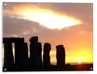 Stonehenge, Acrylic Print