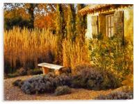 Le Jardin de Vincent 2, Acrylic Print