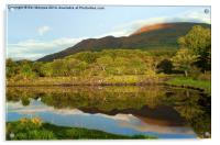 Reflections on Loch Etive, Acrylic Print